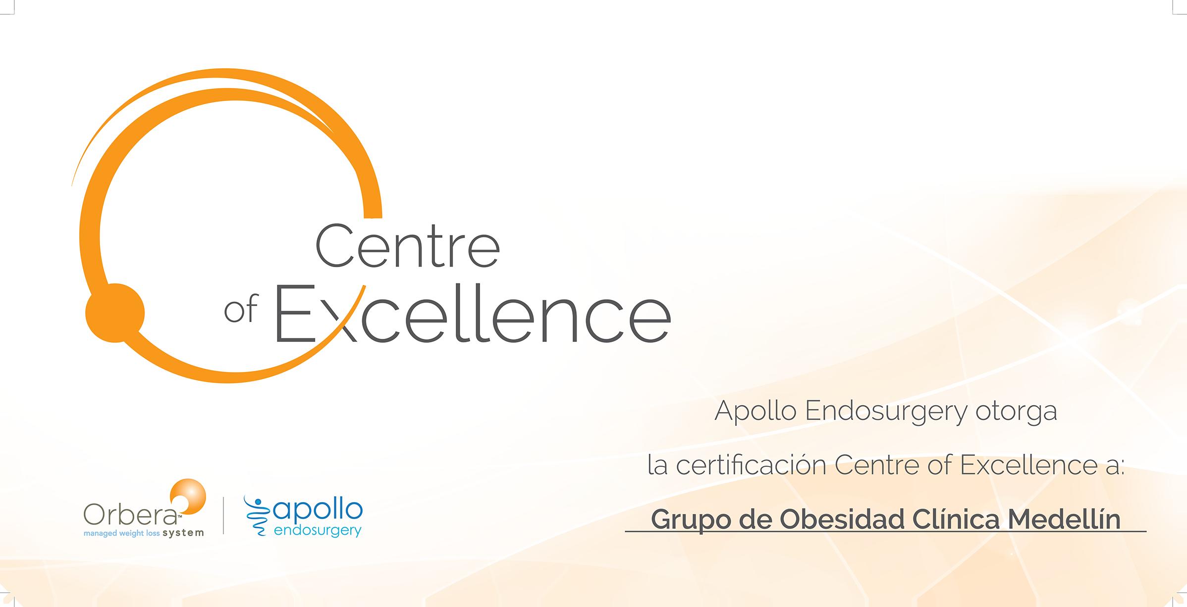 Apollo CENTRE of EXCELLENCE