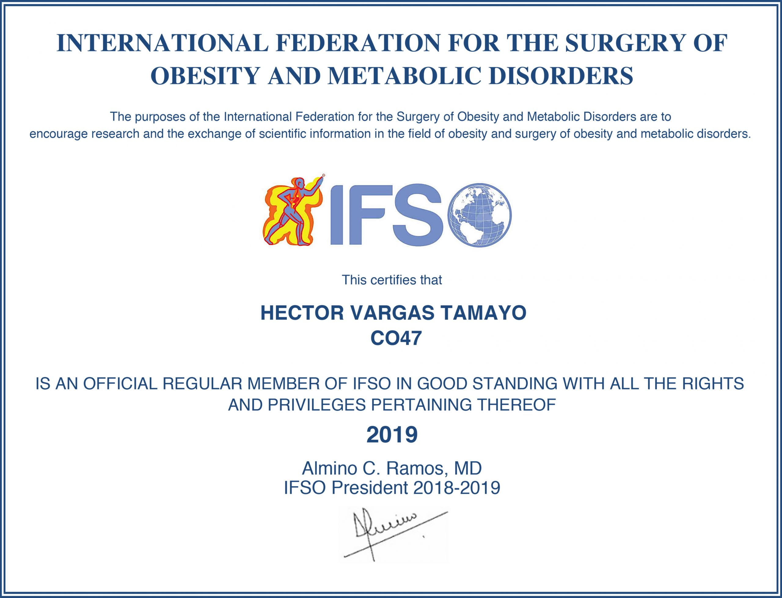 ifso certificate